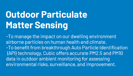 outdoor particulate matter sensing