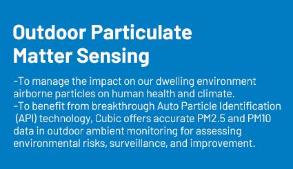 outdoor particulate matter sensing