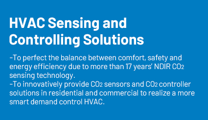 HVAC sensing and controlling solutions