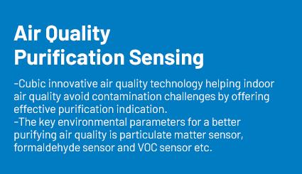 air qualiy purification sensing